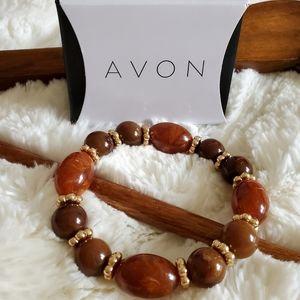 Avon Natures Path Beaded Bracelet